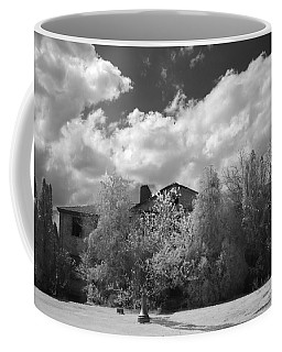 Coffee Mug featuring the photograph Old Coast Guard Barracks On Winter Island by Jeff Folger