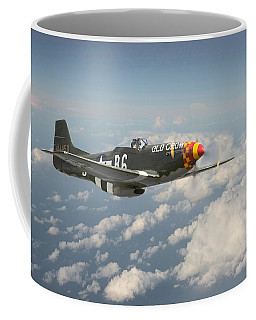 P51 Mustang - 'old Crow' Coffee Mug