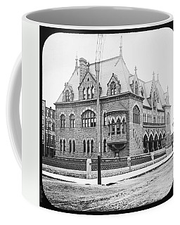 Old Customs House And Post Office Evansville Indiana 1915 Coffee Mug