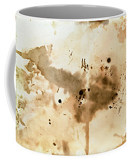 Old Dirty Paper With Blots Coffee Mug