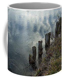 Old Dock Supports Along The Canal Bank - No 1 Coffee Mug