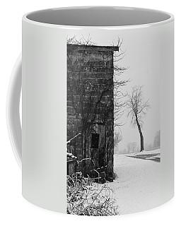 Old Door And Tree Coffee Mug