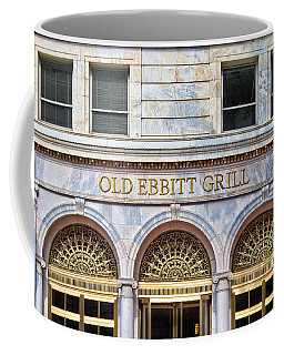 Coffee Mug featuring the photograph Old Ebbitt Grill by Jemmy Archer