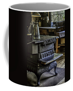 Old Farm Kitchen And Wood Burning Stove Coffee Mug