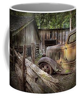 Old Farm Pickup Truck Coffee Mug