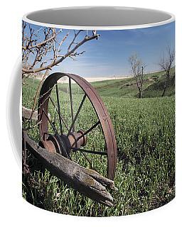 Old Farm Wagon Coffee Mug by Art Whitton