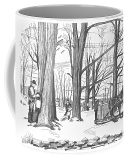 Old Fashioned Maple Syruping Coffee Mug