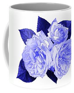 Coffee Mug featuring the photograph Old Fashioned Roses by Jane McIlroy