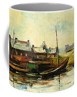 Old Fisherman's Village Coffee Mug