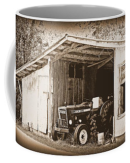 Coffee Mug featuring the photograph Old Ford by Faith Williams
