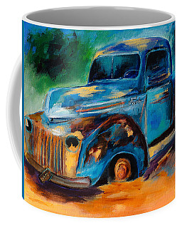 Old Ford In The Back Of The Field Coffee Mug