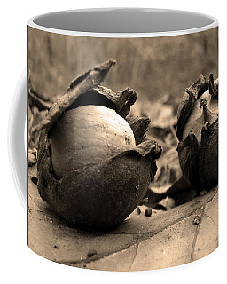 Coffee Mug featuring the photograph Old Friends by GJ Blackman