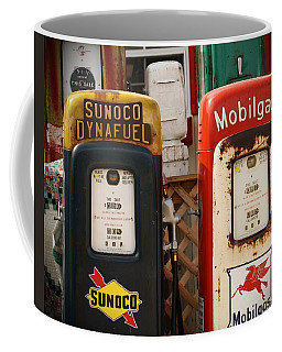 Old Fuel Pumps Coffee Mug