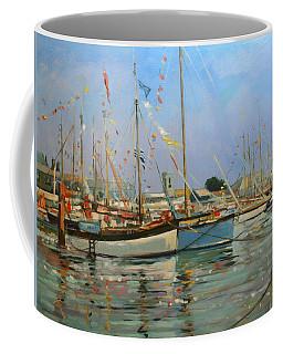 Old Gaffers  Yarmouth  Isle Of Wight Coffee Mug
