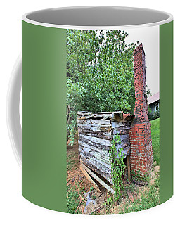 Coffee Mug featuring the photograph Old Georgia Smokehouse by Gordon Elwell