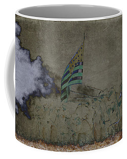 Old Glory Standoff Coffee Mug by Wes and Dotty Weber