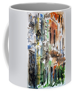 Old Houses Of San Juan Coffee Mug