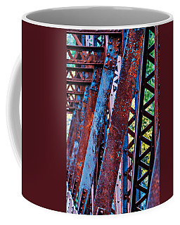 Coffee Mug featuring the photograph Old Iron by Mary Jo Allen