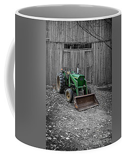 Old Tractor By The Barn Etna New Hampshire Coffee Mug
