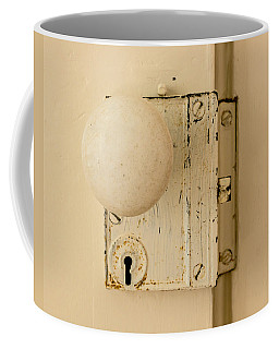 Old Lock Coffee Mug by Photographic Arts And Design Studio
