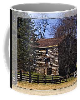Old Log Home Coffee Mug