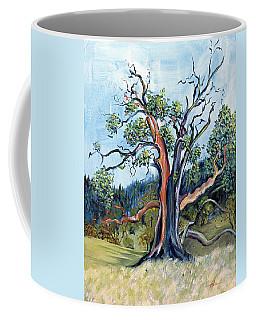 Old Madrone Tree In November  Coffee Mug