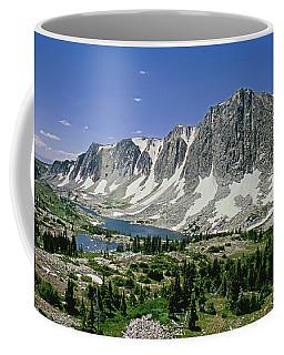 M-09702-old Main Peak, Wy Coffee Mug