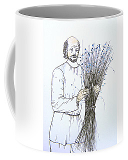 Old Man And Flax Coffee Mug
