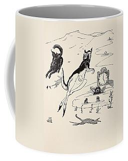 Old Man Kangaroo At Five Coffee Mug