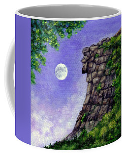 Coffee Mug featuring the painting Old Man Of The Mountain by Sandra Estes