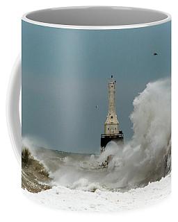 Old Man Winter Coffee Mug by James  Meyer