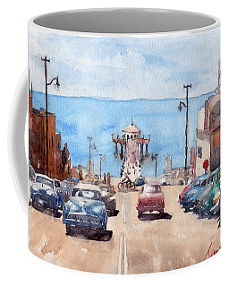 Old Manhattan Beach Coffee Mug