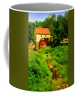 Old Mill In Springtime Coffee Mug