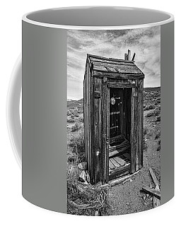 Old Outhouse Coffee Mug