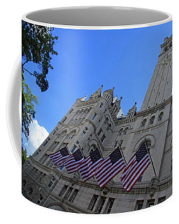 The Old Post Office Or Trump Tower Coffee Mug by Cora Wandel