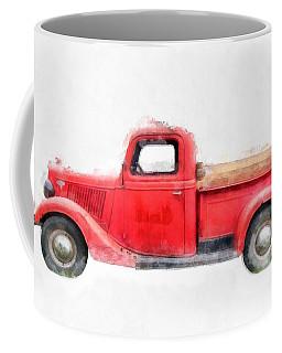 Old Red Ford Pickup Coffee Mug