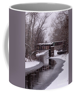 The Nifti Railroad Bridge Coffee Mug