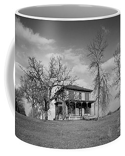Old Rustic House On A Hill Coffee Mug