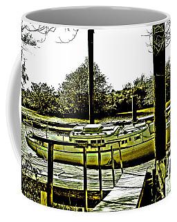 Old Sailboat Coffee Mug