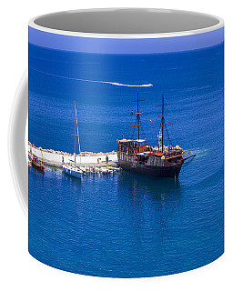 Old Sailing Ship In Bali Coffee Mug