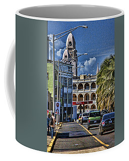 Coffee Mug featuring the photograph Old San Juan Cityscape by Daniel Sheldon