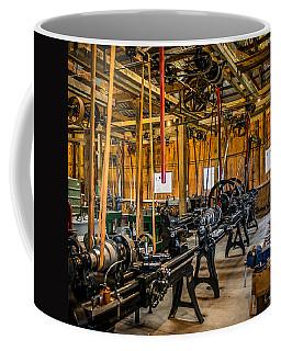 Old School Machine Shop Coffee Mug by Paul Freidlund