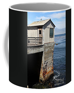 Old Shack Overlooking The Monterey Bay In Monterey Cannery Row California 5d25062 Coffee Mug