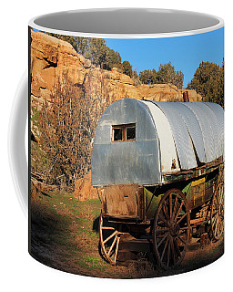 Old Sheepherder's Wagon Coffee Mug by Nadja Rider