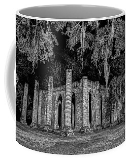 Old Sheldon Church At Night Coffee Mug