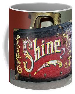 Old Shoe Shine Kit Coffee Mug by Pamela Walrath