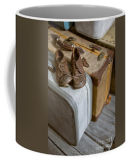 Old Shoes And Packed Bags Coffee Mug