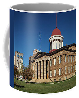 Old State Capital Springfield Illinois Coffee Mug