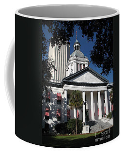 Coffee Mug featuring the photograph Old State Capitol - Florida by Christiane Schulze Art And Photography