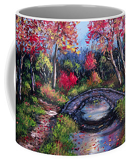 Old Stone Bridge Coffee Mug by Megan Walsh